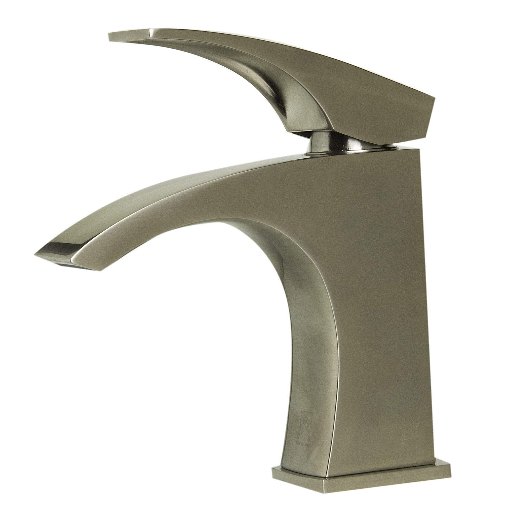 alfi brushed nickel single lever bathroom faucet ab1586 bn