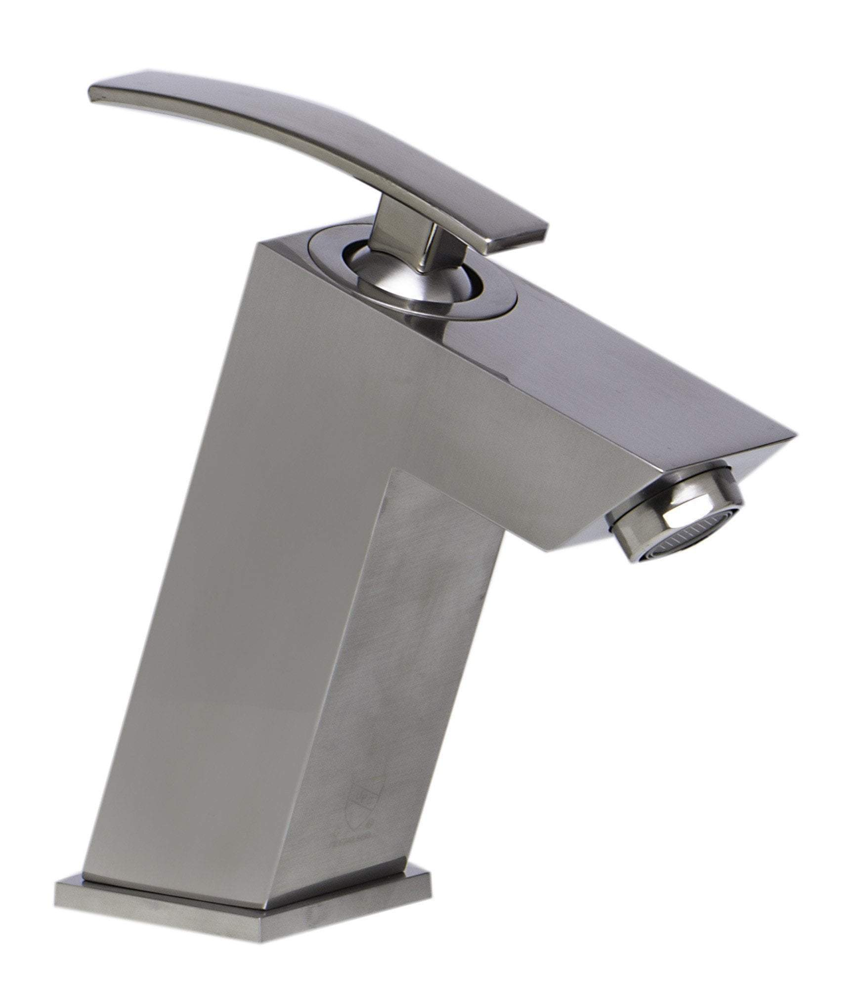 alfi brushed nickel single lever bathroom faucet ab1628 bn