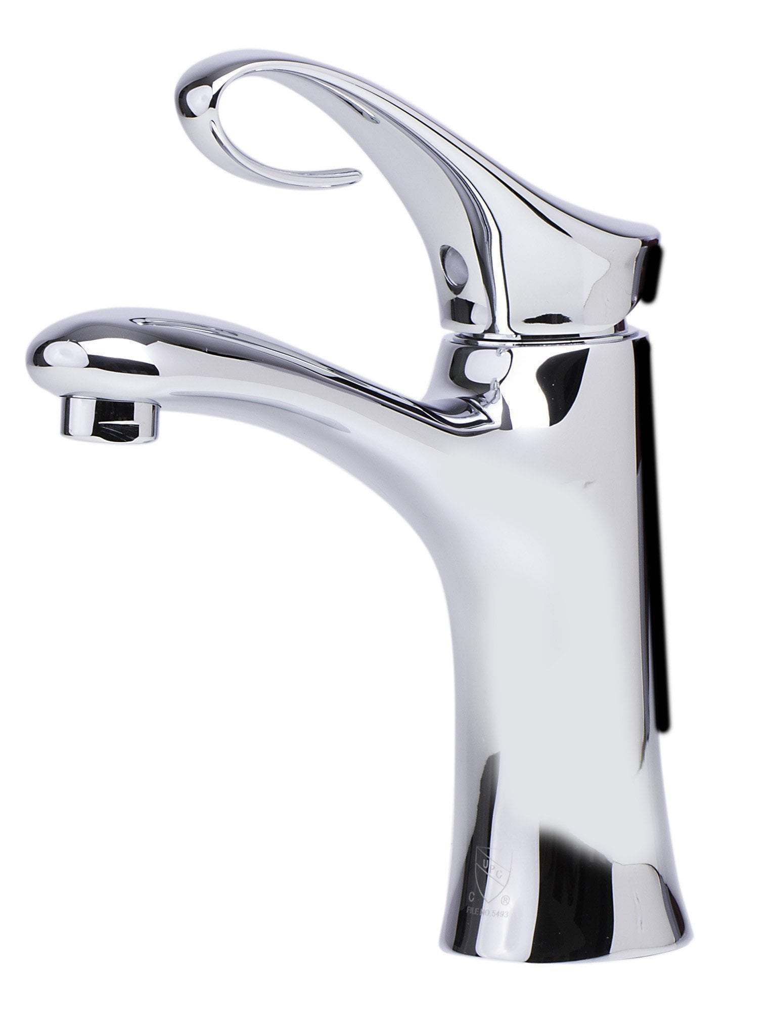 alfi polished chrome single lever bathroom faucet ab1295 pc