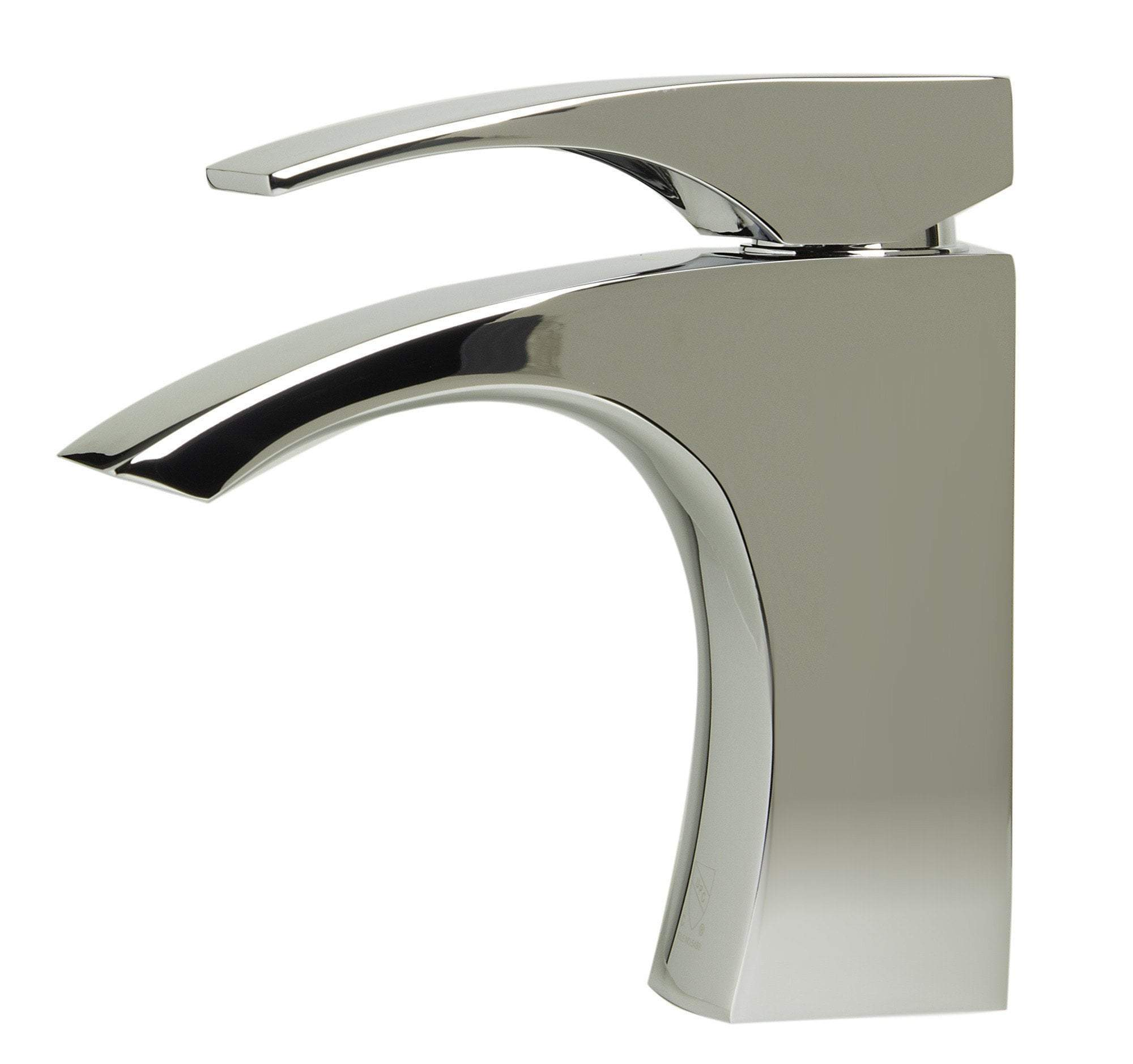 alfi polished chrome single lever bathroom faucet ab1586 pc