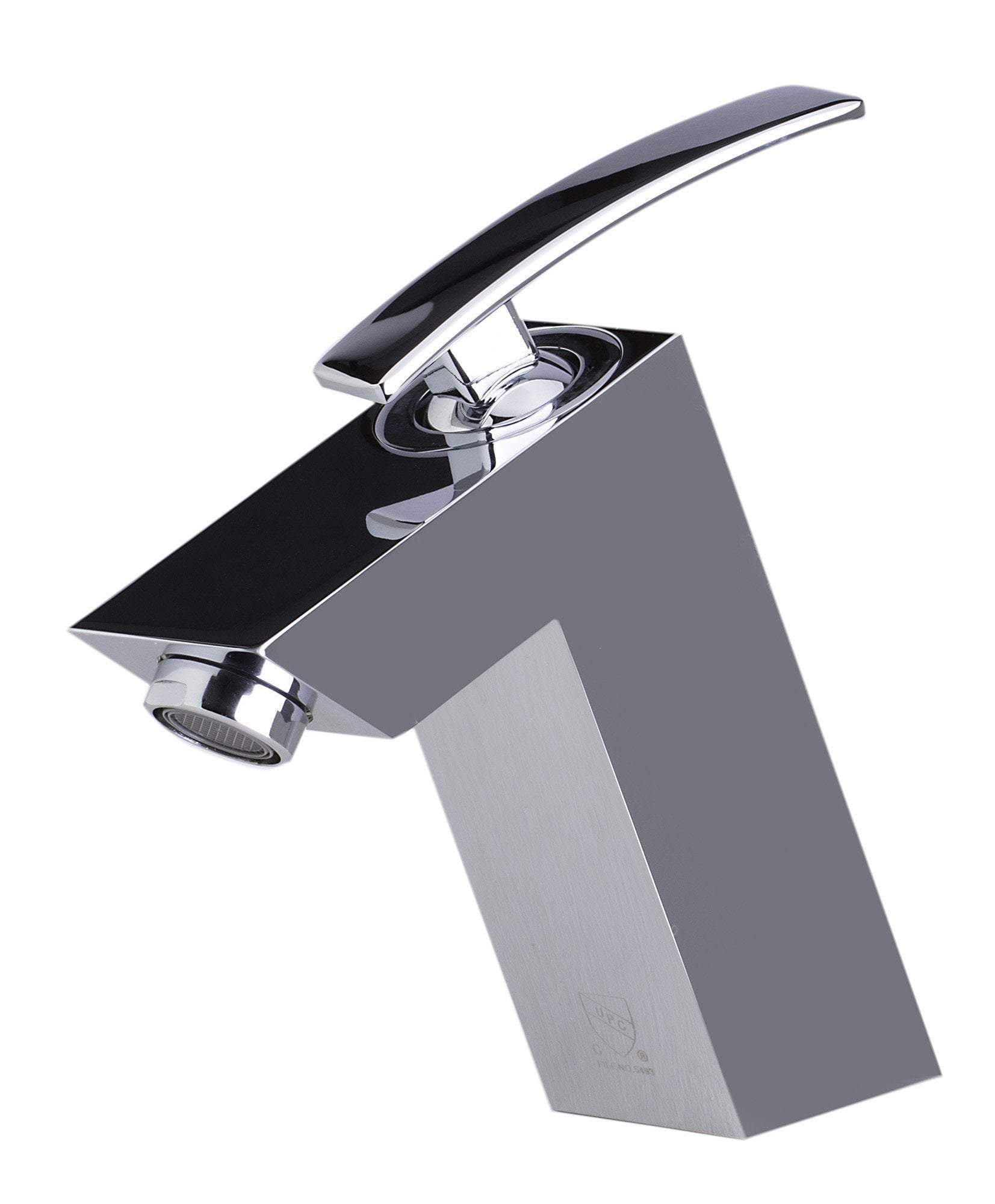 alfi polished chrome single lever bathroom faucet ab1628 pc