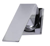 ALFI Polished Chrome Single Lever Wall-Mounted Bathroom Faucet