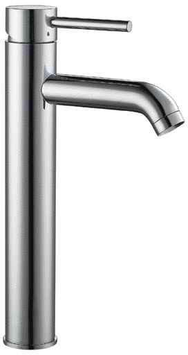alfi tall brushed nickel single lever bathroom faucet ab1023 bn