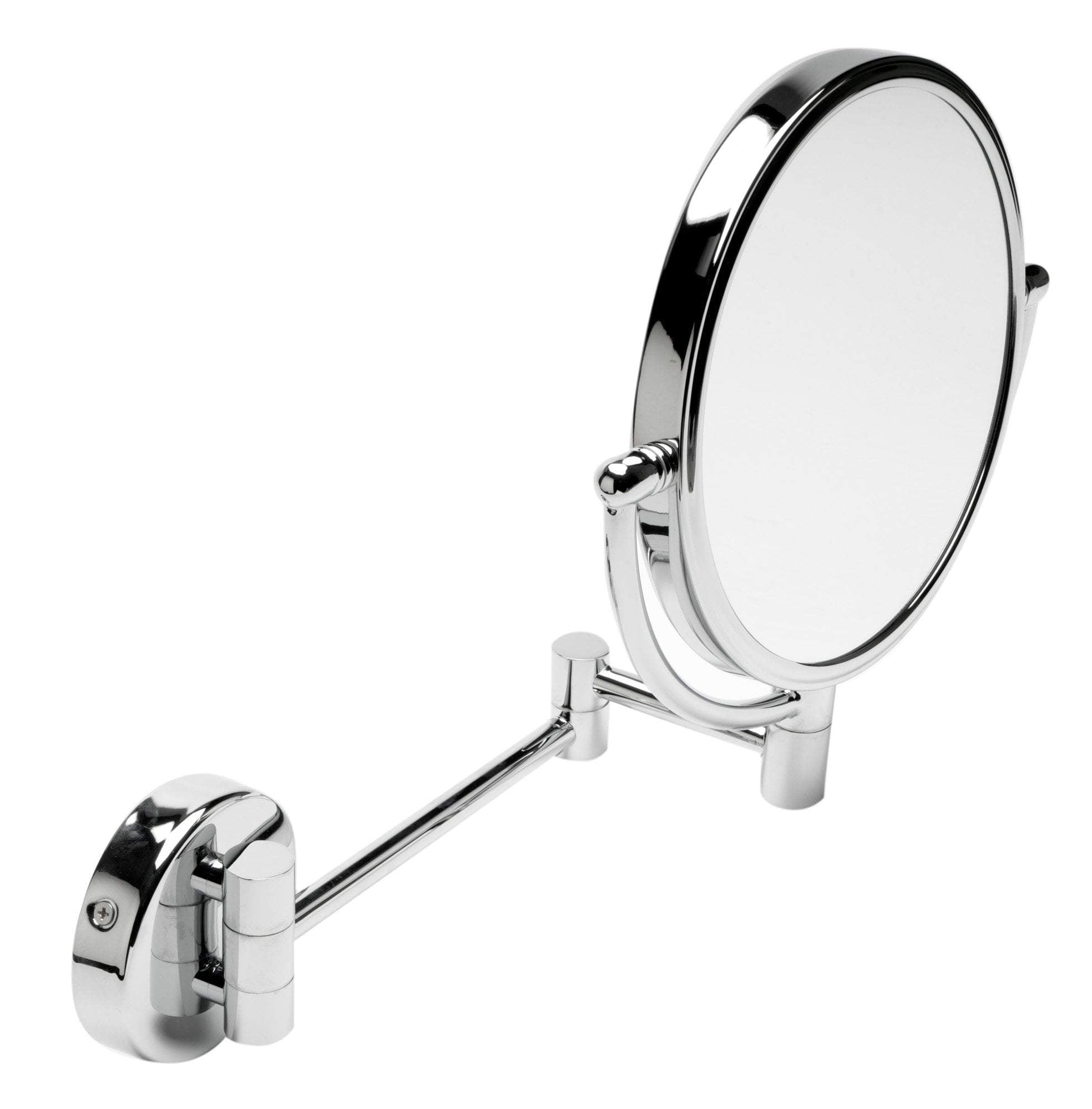 "ALFI brand ABM8WR-PC 8"" Round Wall Mounted 5x Magnify Cosmetic Mirror"