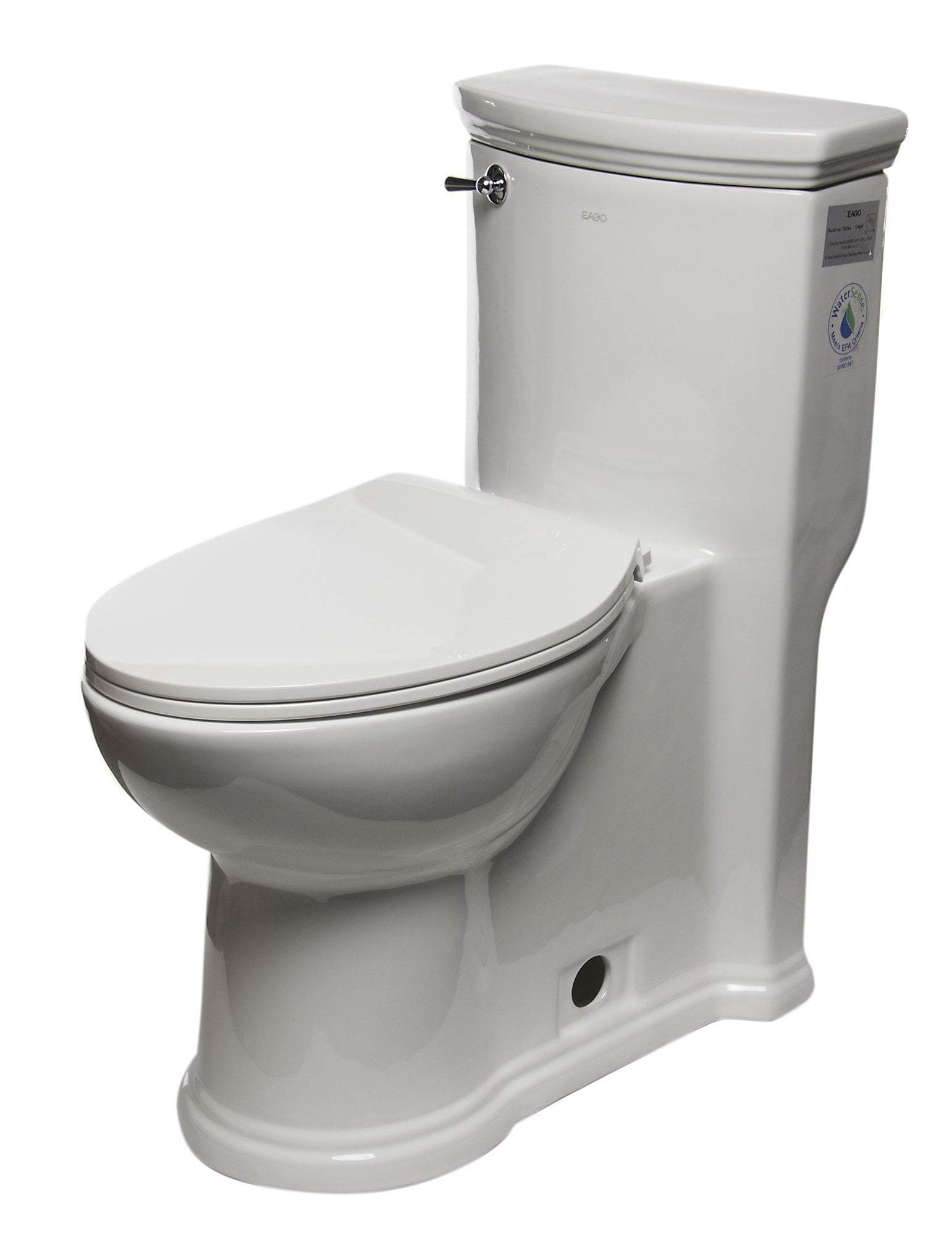 ADA Compliant One Piece Single Flush Toilet
