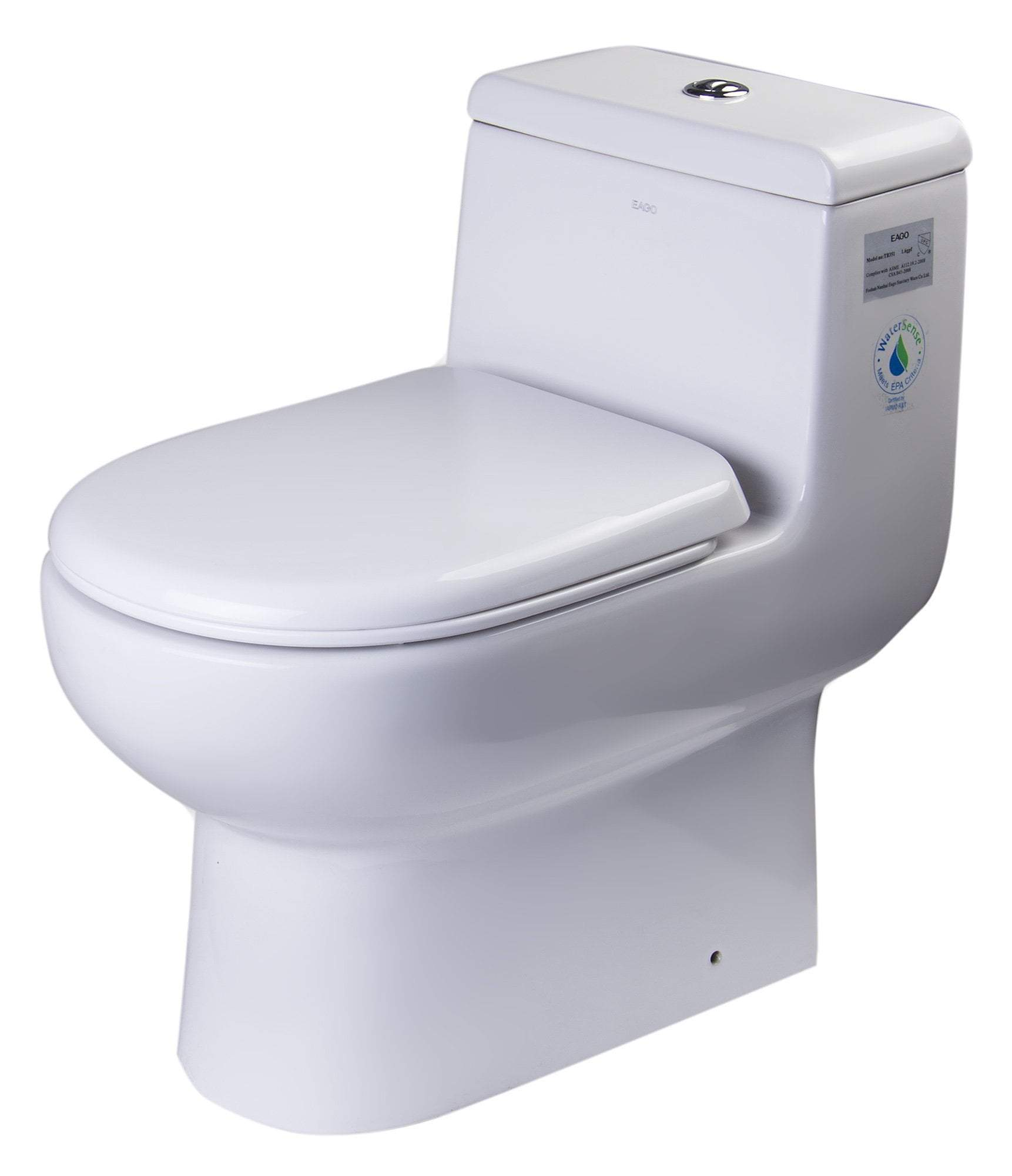 DUAL FLUSH ONE PIECE ECO-FRIENDLY HIGH EFFICIENCY LOW FLUSH CERAMIC TOILET