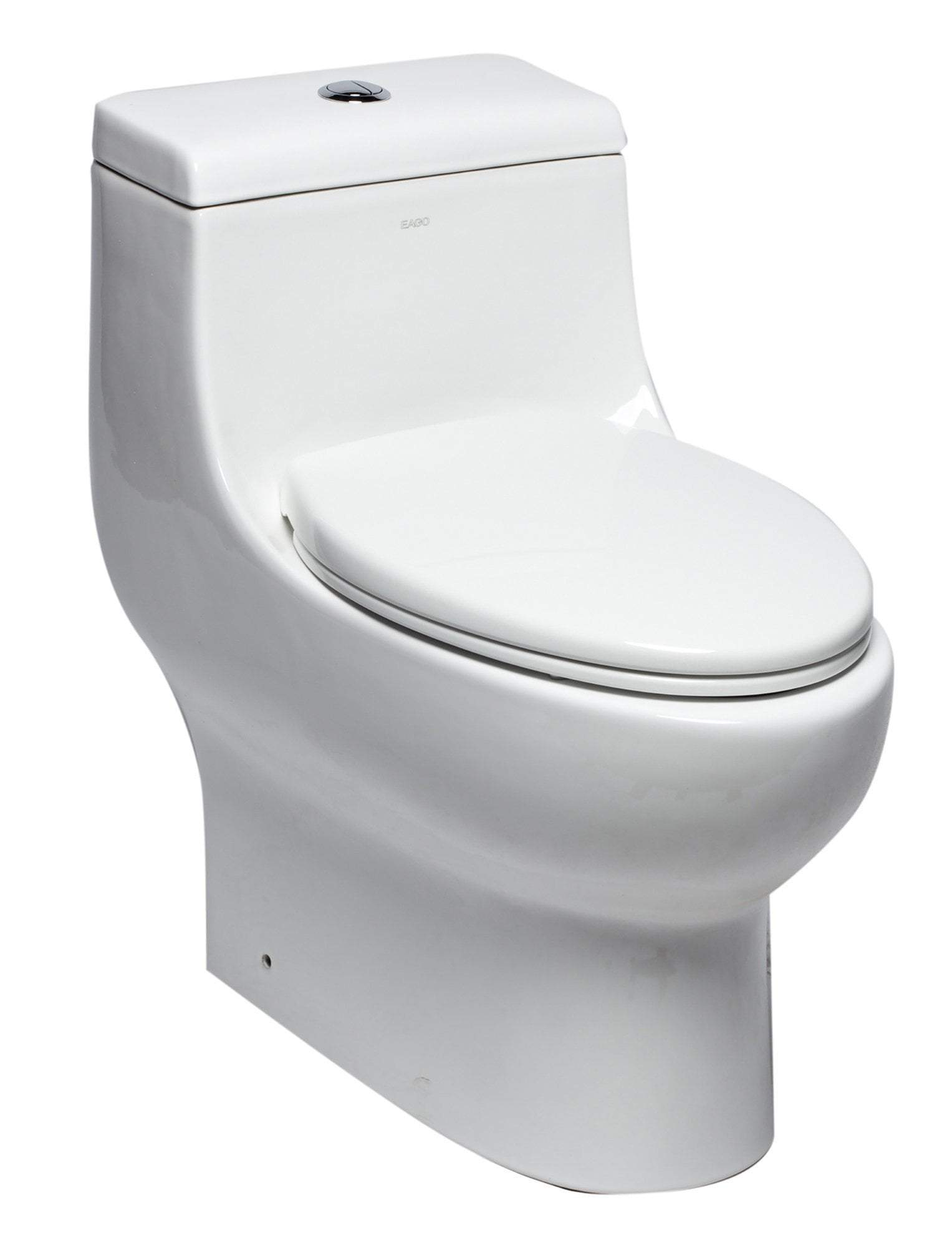Dual Flush One Piece Elongated Ceramic Toilet