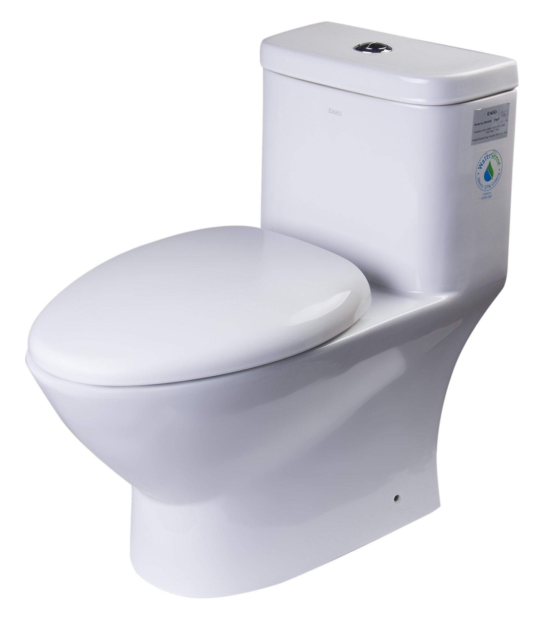 MODERN DUAL FLUSH ONE PIECE ECO-FRIENDLY HIGH EFFICIENCY LOW FLUSH CERAMIC TOILET