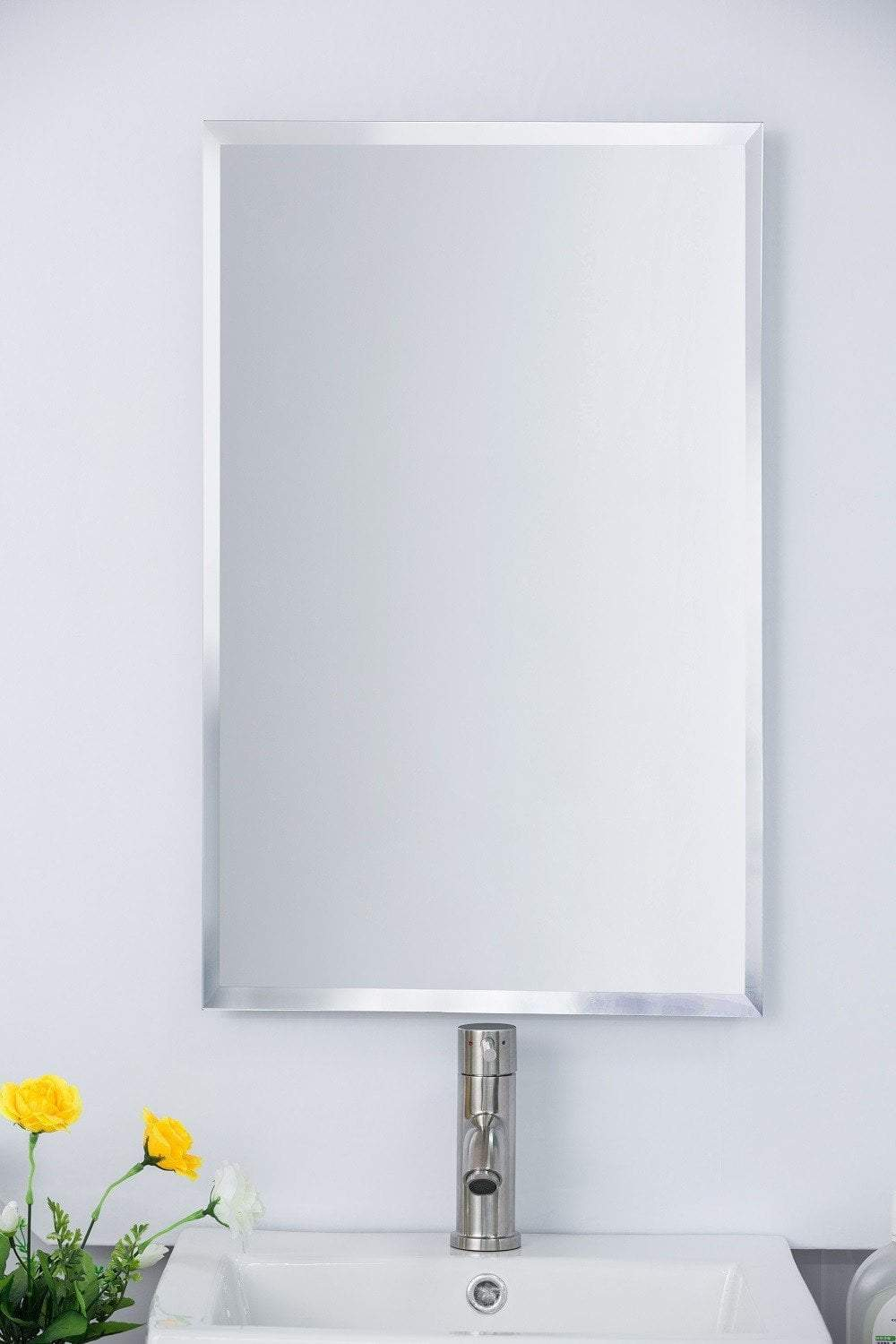 "16.75""W Medicine Cabinet, Frameless, 3 Shelves, Recessed or Surface Mount"