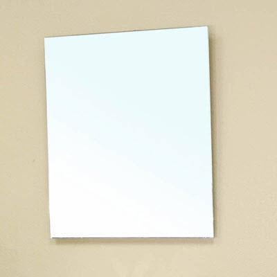 "Bellaterra 29"" x 23.5"" Bathroom Mirror, Birch Wood"