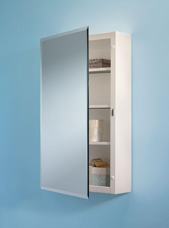 topsider 16 x 26 surface mount beveled edge medicine cabinet_268p26wh