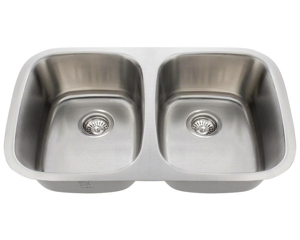 P015-16 Double Bowl Stainless Steel Sink
