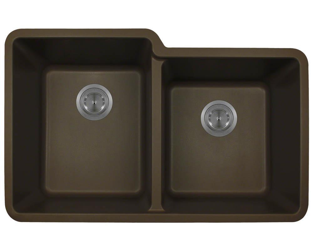 P108M Double Offset Bowl AstraGranite Sink