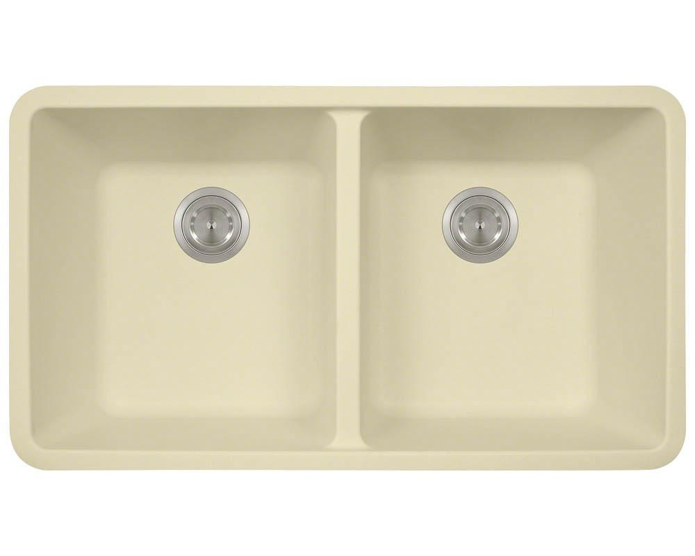 P208BE Double Equal Bowl AstraGranite Kitchen Sink