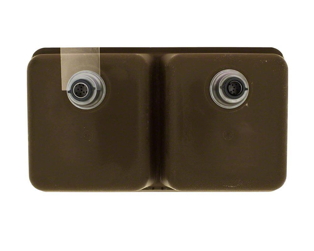 P208M Double Equal Bowl AstraGranite Kitchen Sink