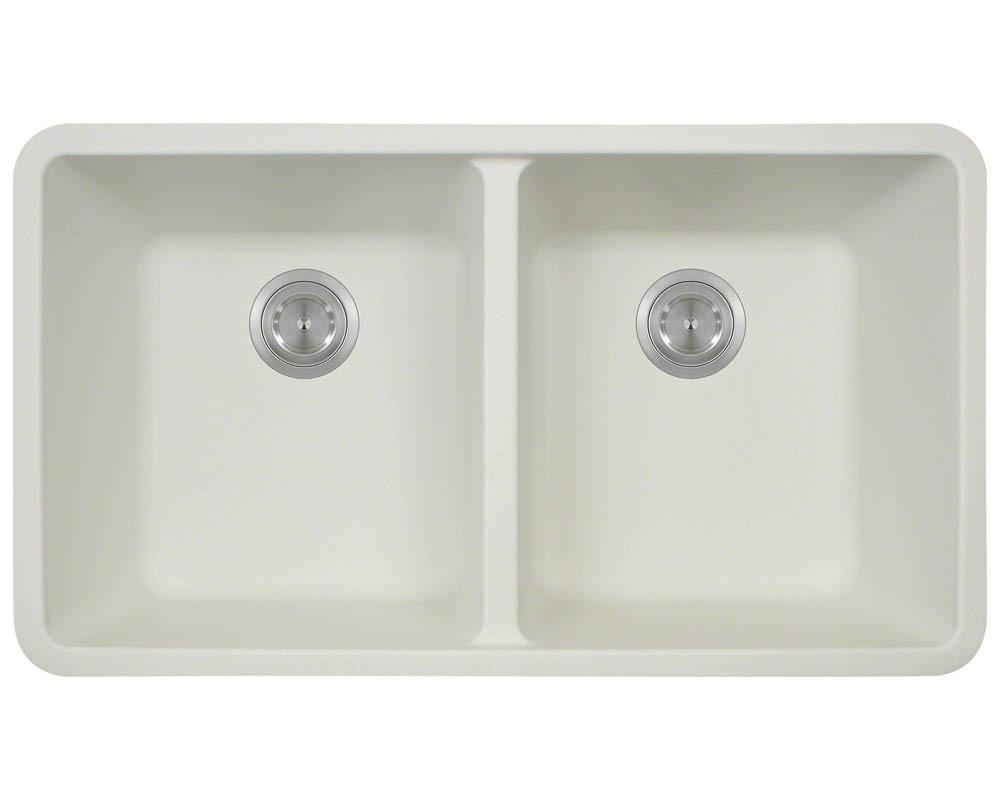 P208W Double Equal Bowl AstraGranite Kitchen Sink