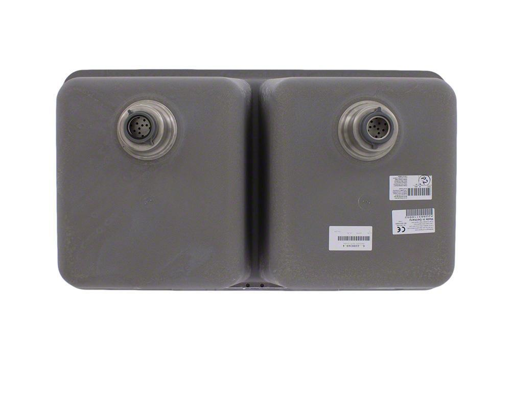P218S Double Equal Bowl Low-Divide Undermount AstraGranite Sink