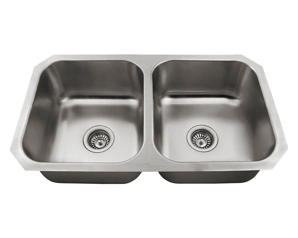 P2201US Double Bowl Stainless Steel Sink