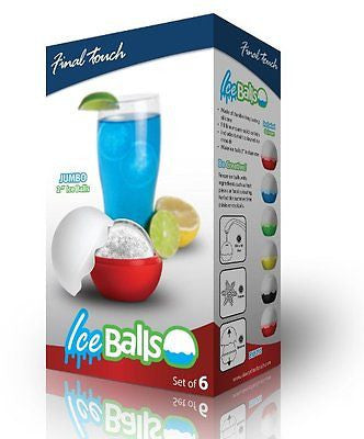 Ice Ball Moulds - 6 Pack