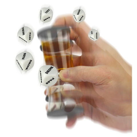 Loaded Dice - Shot Glass Game