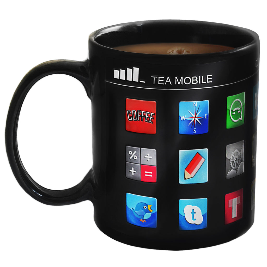 Heat Changing App Mug