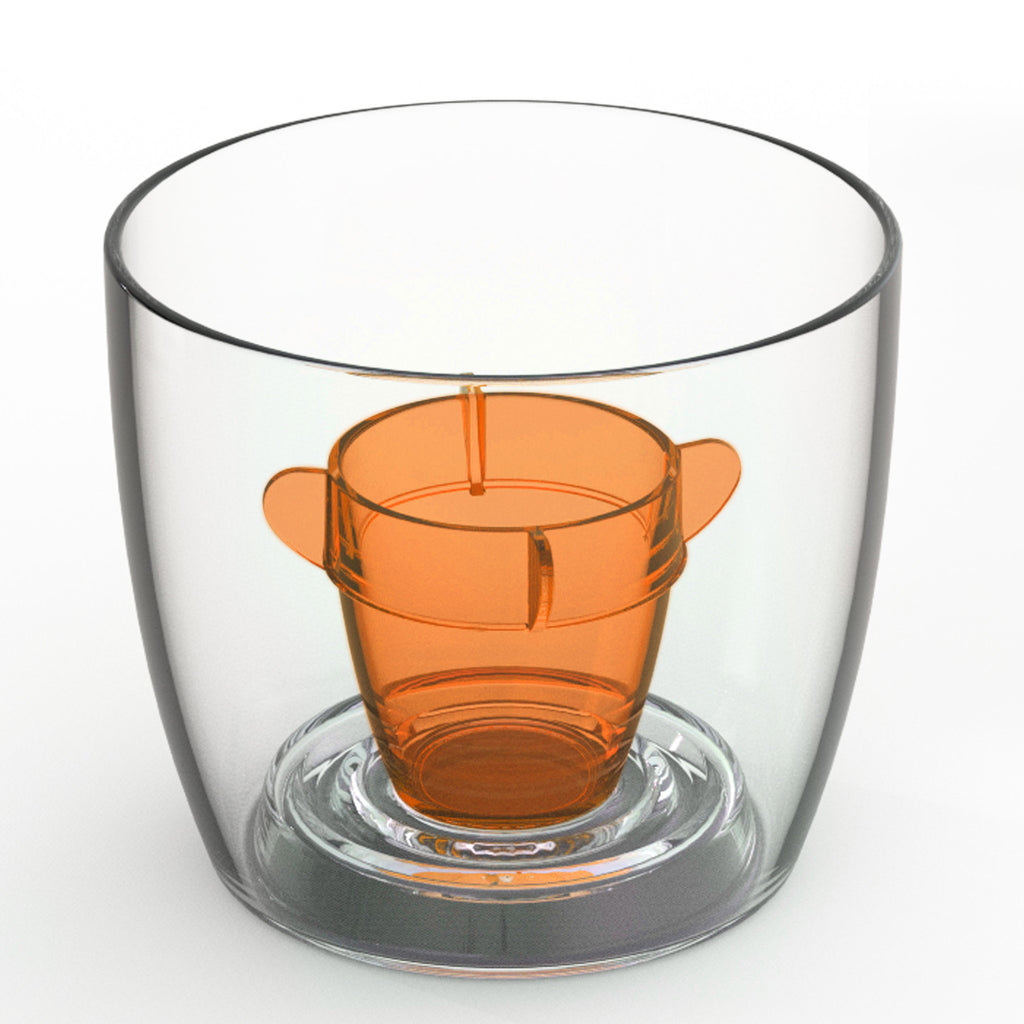 Deluxe Bomber Cup Orange - Packs of 4 to 250 (ex VAT)