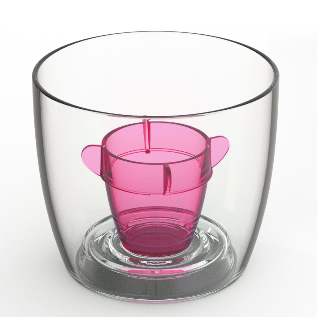 Deluxe Bomber Cup Pink - Packs of 4 to 250 (ex VAT)