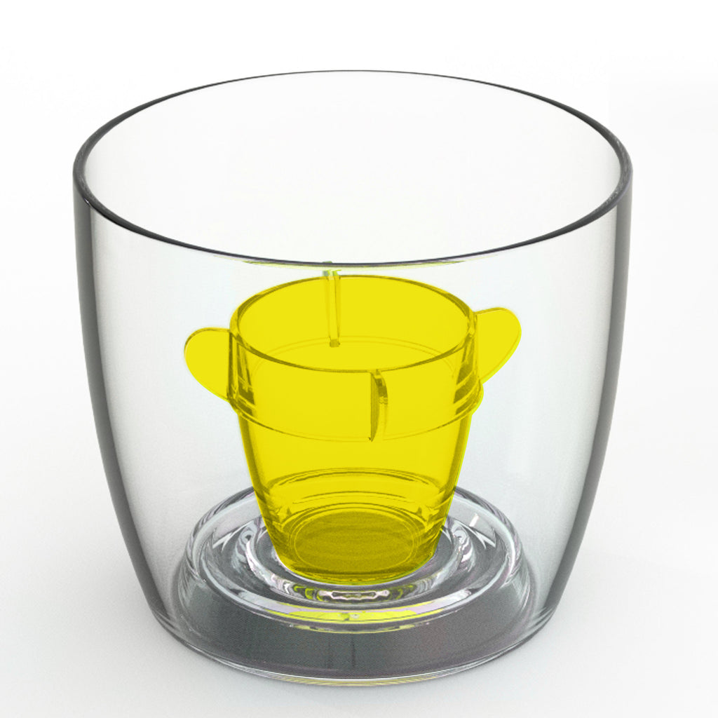 Deluxe Bomber Cup Yellow - Packs of 4 to 250 (ex VAT)