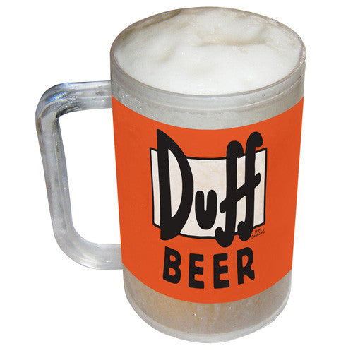 Simpsons Freezable Duff Beer Tankard