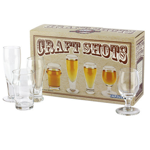Craft Beer Shot Glasses