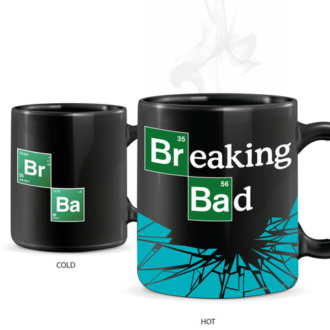 Breaking Bad - Heat Changing Logo