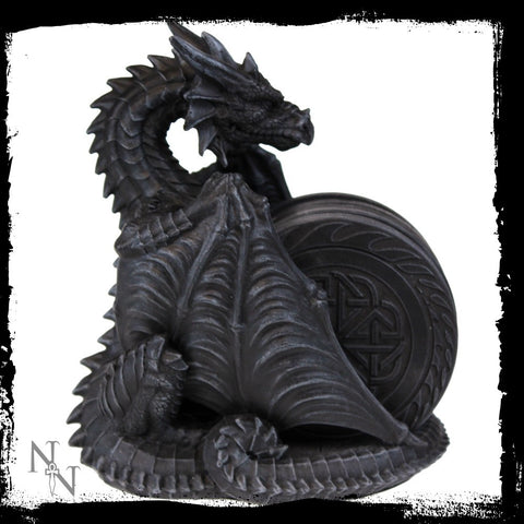 Dragons Lair Coaster Set 16.5cm