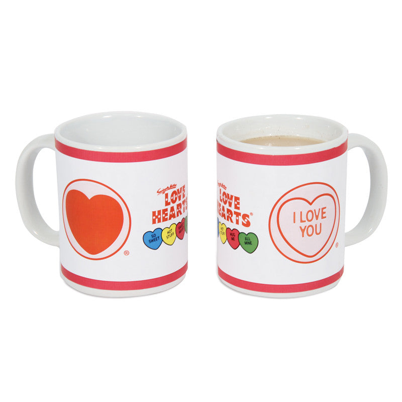 Love Hearts Heat Change Mug