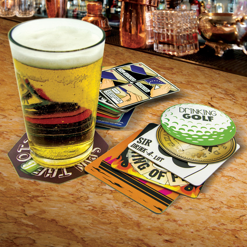 Drinking Game Bar Mats/Coasters
