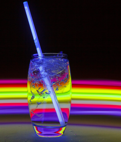 Glowing Straws - 6 Pack
