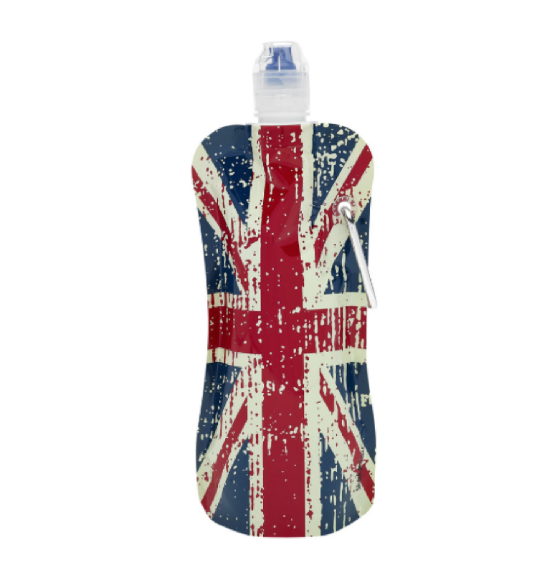 Hydration Flask - Huge Union Jack Hip Flask (700ml)