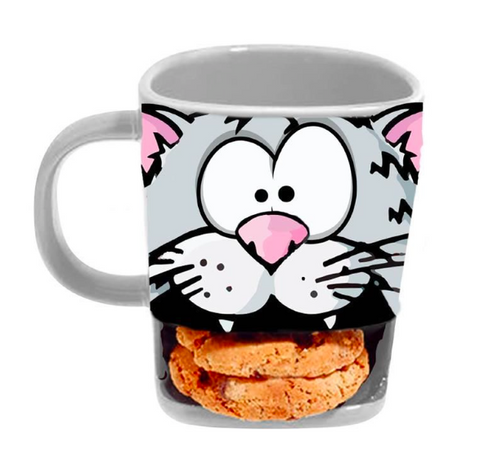 Brew Buddies Cat Mug