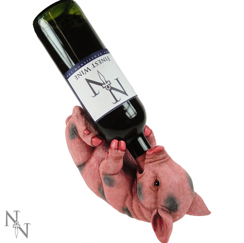 Pig Wine Bottle Holder