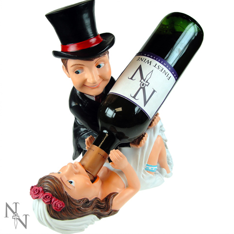 Bride and Groom Wine Bottle Holder