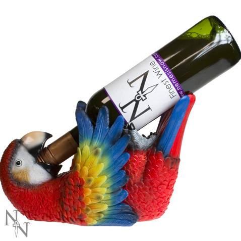 Parrot Wine Bottle Holder