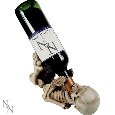 Skeleton Wine Bottle Holder