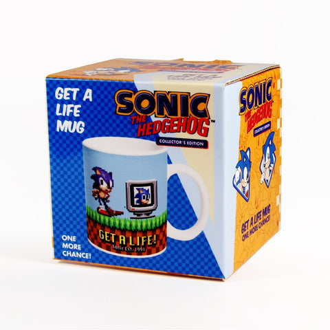 Sonic The Hedgehog - Get A  Life Mug
