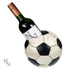Football Wine Bottle Holder - 18.5cm