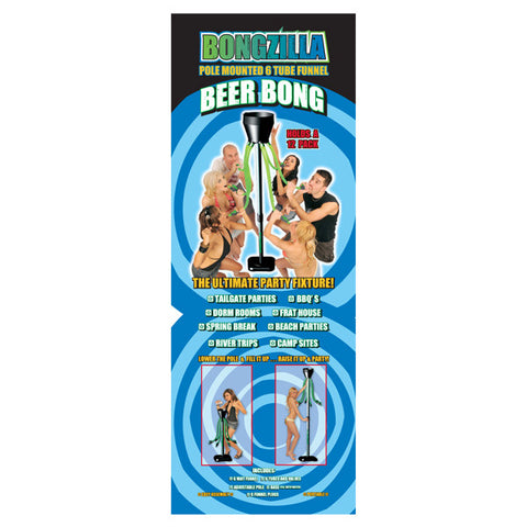 Bongzilla - Green 6 Man Beer Bong