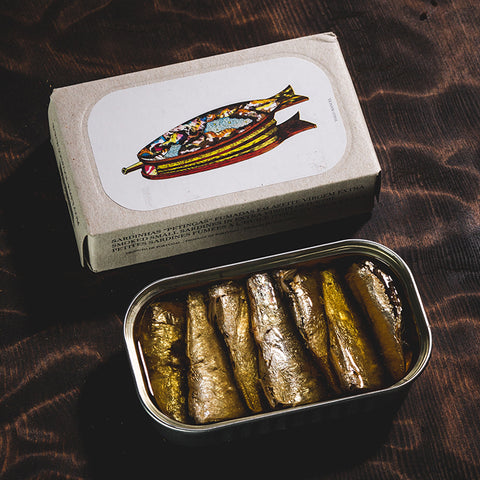 José Gourmet: Smoked Small Sardines in Extra Virgin Olive Oil