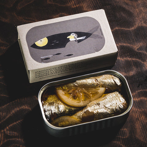 José Gourmet: Sardines with Lemon in Olive Oil