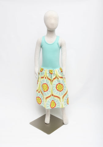 Bamboo Tank Dress - Sunflower