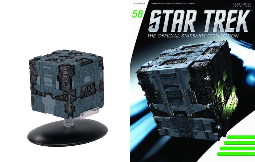 Eaglemoss Tactical Borg Cube and Magazine