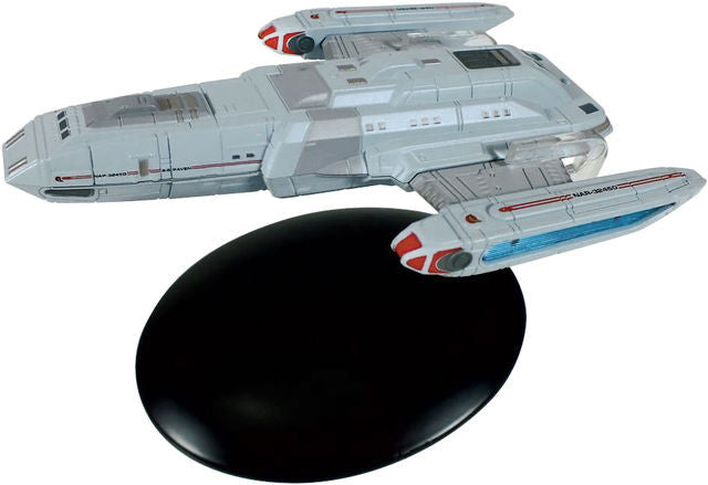 Eaglemoss Star Trek SS Raven and Magazine