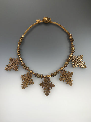 Brass Coptic Crosses